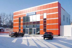вентилируемые фасады здания