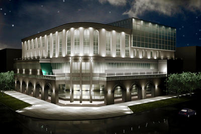 проект архитектурной подсветки здания 2014г.